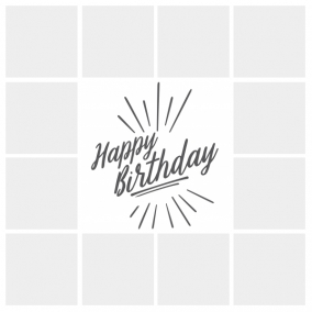 Birthday photo editor – FREE templates for up to 100 photos!