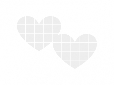 Heart photo collage – with FREE heart-shaped templates!