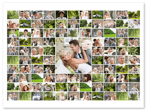 100 photo collage maker top