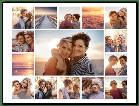 15 Photos Love Collage top