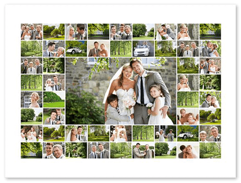 50 photo collage top