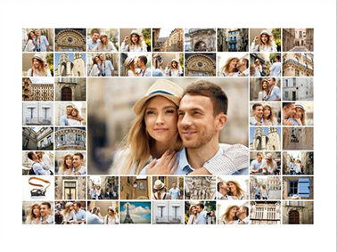 50 picture collage slider