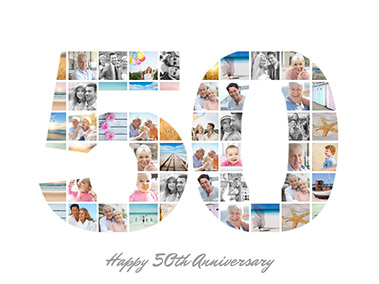anniversary collage slider
