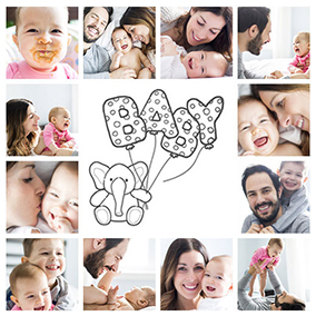 Baby collage 250 free templates for up to 100 baby photos baby collage maker slider maxwellsz