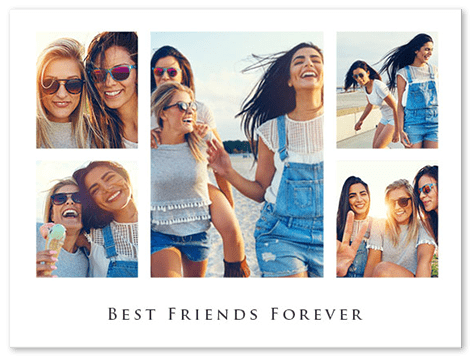 Best Friend Collage Xxl Gift Idea 250 Free Templates