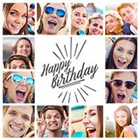 birthday collage 2
