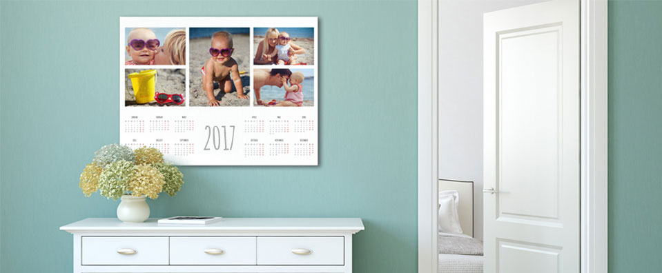 calendar exemple in living room