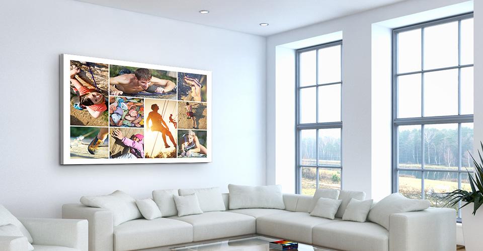 Create Your Photo Collage As Wall Art
