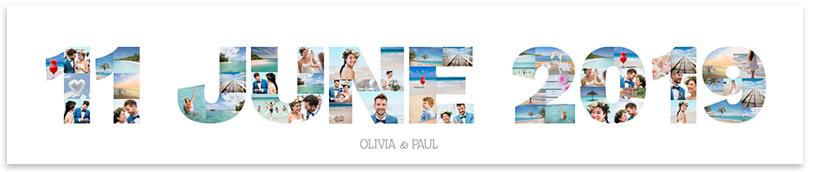 collage letter transfer