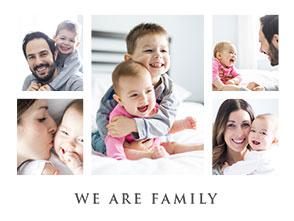 collage vorlage family 3