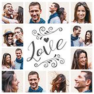 collage vorlage liebe 2