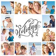 collage vorlage vacation 2
