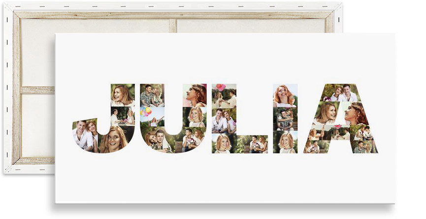 ad2d7ad229ae Letter photo collage - NEW  Fill text with images now!