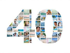 photo collage 40 birthday large