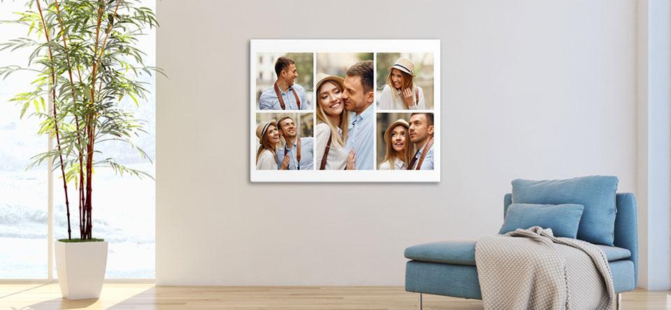 photo collage apartment