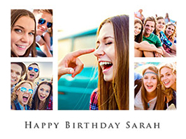 Birthday Photo Collage 250 Free Templates