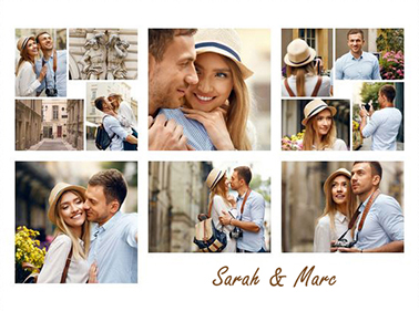 photo collage for 12 photos slider