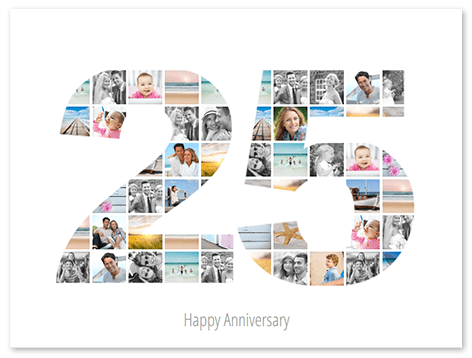 Photo Collage Wedding Anniversary 250 Free Templates