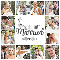 wedding photo collage 2